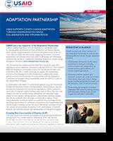 Adaptation partnership