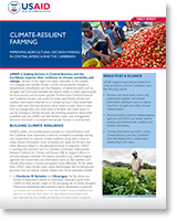 Climate resilient farming