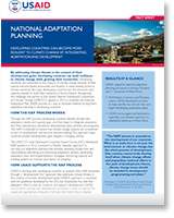 National Adaptation Planning