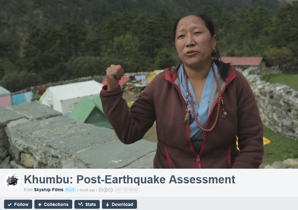 Short video overview of earthquake assessment.